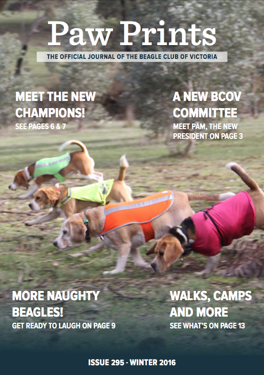 PawPrints - Issue 295 - Winter 2016