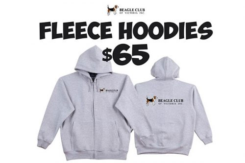 BCOV Fleece Hoodies - Grey