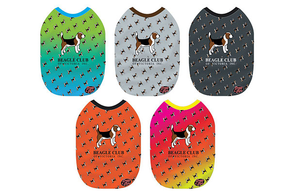 Beagle Club Jackets in various colours