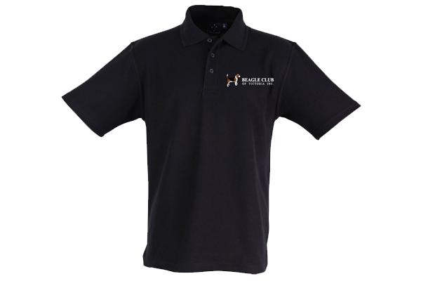 Beagle Club of Victoria Inc Polo Shirt - Black
