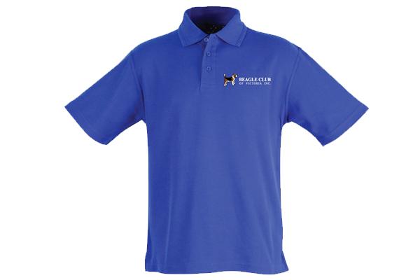 Beagle Club of Victoria Inc Polo Shirt - Blue