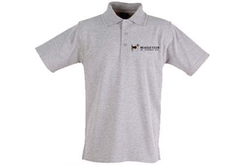 Beagle Club of Victoria Inc Polo Shirt - Grey