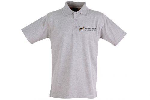 Beagle Club of Victoria Inc Polo Shirt - Grey